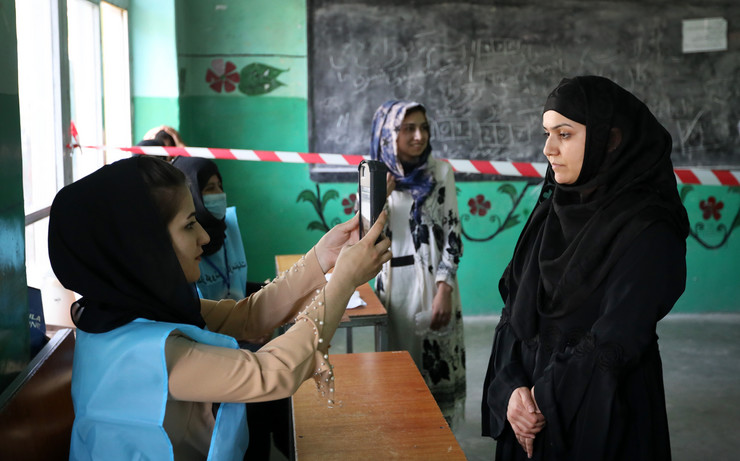avganistan, predsednički izbori