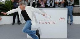 Co ten Polański wyprawia w Cannes? Najpierw szpagat w samych gaciach, a teraz to!