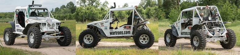 Auto ekipy Wartrans: Dariusza i Ernesta Dworzyńskich