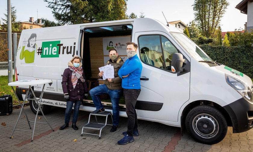 Smogobus wyrusza na ulice Katowic. Startuje pod Spodkiem w sobotę 23 września