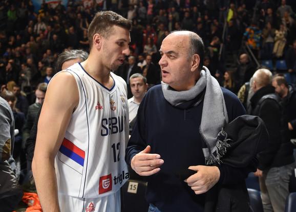 Dragan Milosavljević i Duško Vujošević