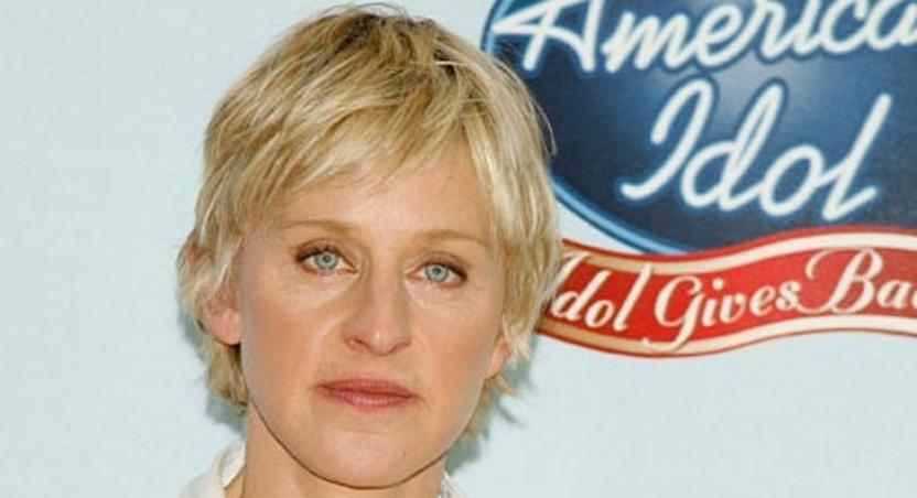 Ellen DeGeneres on American Idon season 9