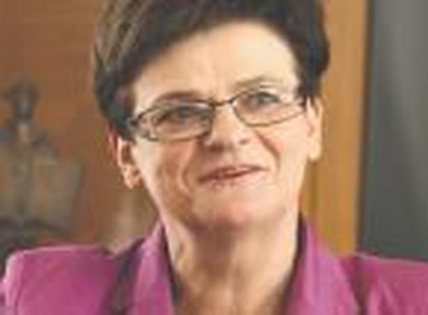 Krystyna Szumilas, minister edukacji narodowej