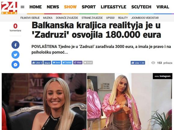 Hrvatski mediji o Luni Đogani