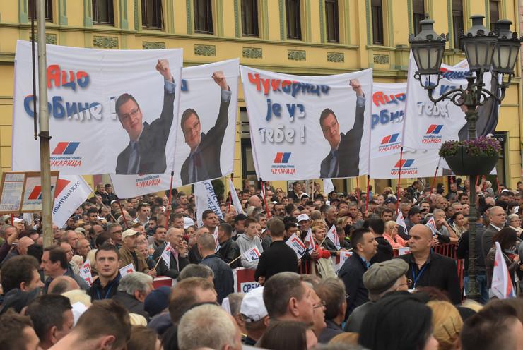 Novi Sad1165 Miting SNS foto Nenad Mihajlovic