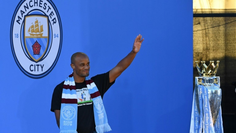 Kompany won an English domestic treble with Man City before leaving at the end of last season