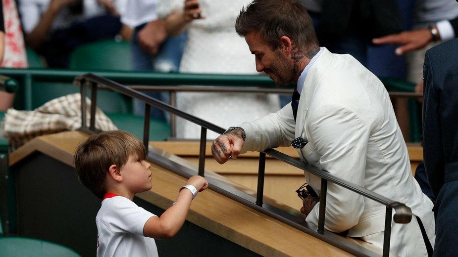 David Beckham z małym kibicem z Polski