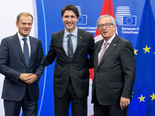 Signature of the Comprehensive Economic and Trade Agreement (CETA) between Europe and Canada