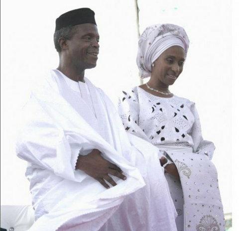 VP Osinbajo and Mrs Dolapo celebrate their 27th wedding ceremony