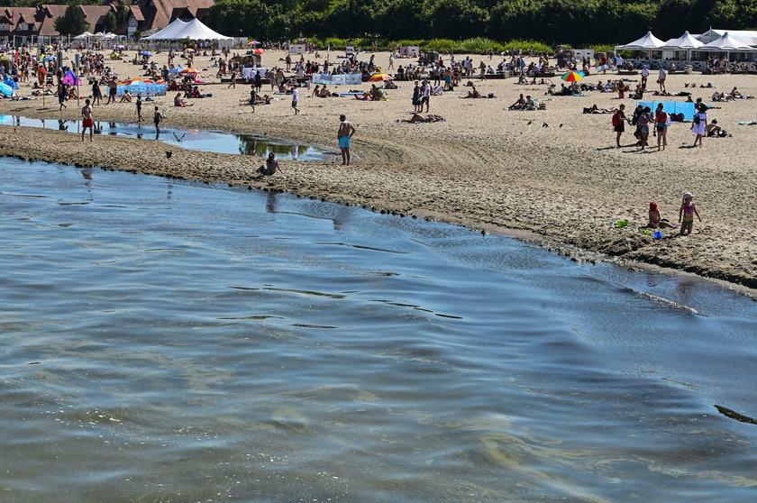 Tłumy na plażach