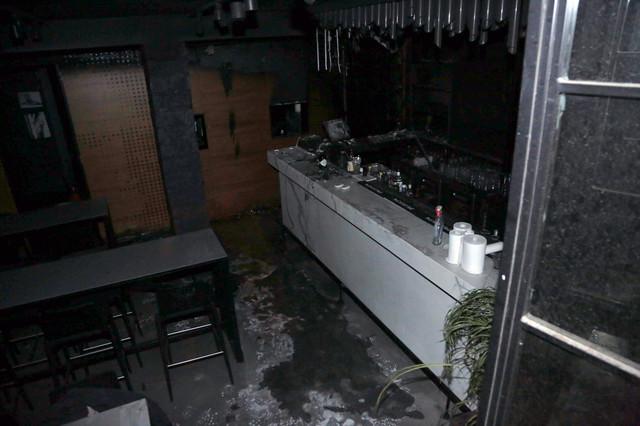 Lokal nakon gašenja požara