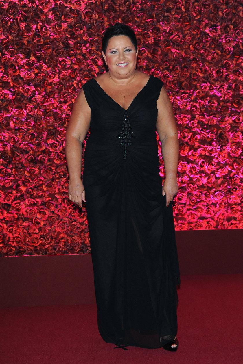 Dorota Wellman we wrześniu 2013