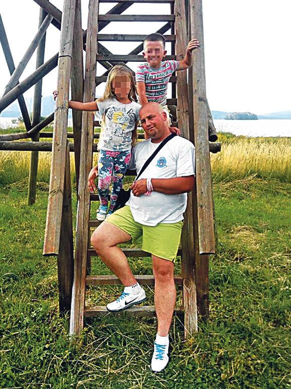 Veljko i Natalija sa  ocem Vasilijem