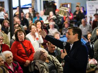 Republican Presidential Candidate Ted Cruz Campaigns In New Hampshire