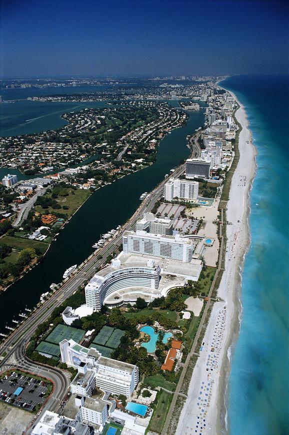 Majami Bič je prepun luksuznih hotela
