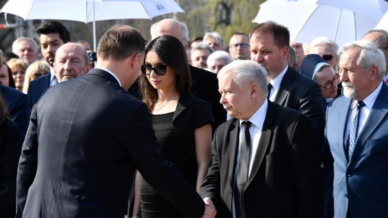 Andrzej Duda; Marta Kaczyńska; Jarosław Kaczyński
