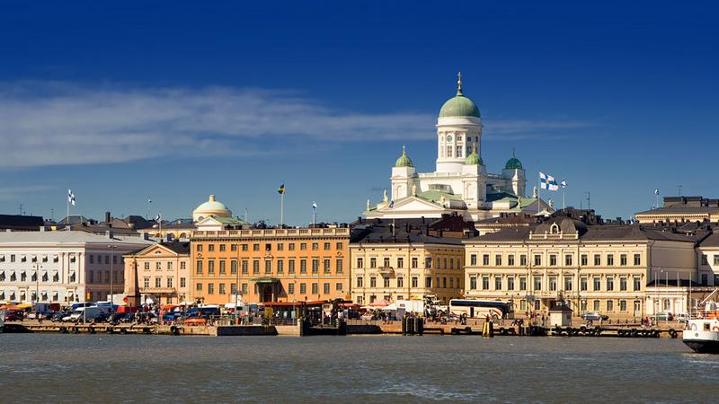 Helsinki z morza