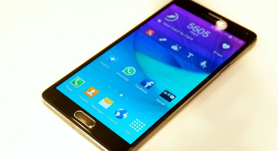 Galaxy Note 4: QHD-Display, UV-Sensor & Metallrahmen