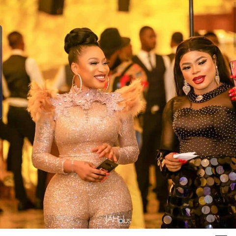 Tonto Diekh has reacted to the protest organised by some youths against cross-dresser, Bobrisky..[Instagram/TontoDikeh]