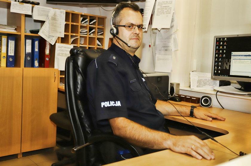 Odlotowe hobby policjanta