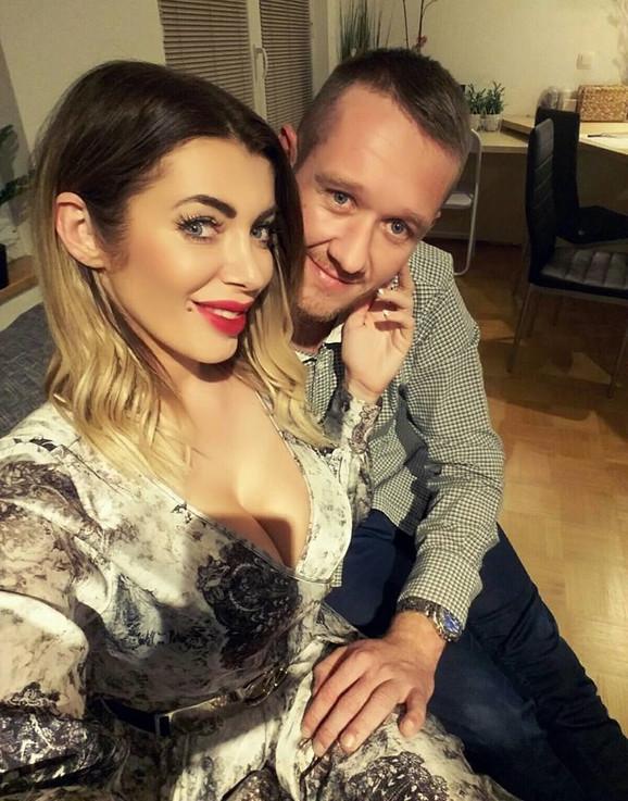 Mirela Lapanović sa suprugom Andrejem