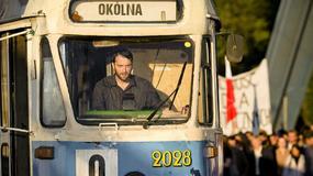 Filip Bobek odbył ekspresowy kurs prowadzenia tramwaju