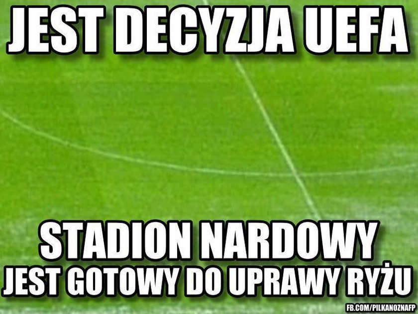 Wszystkie wpadki Stadionu Narodowego! MEMY