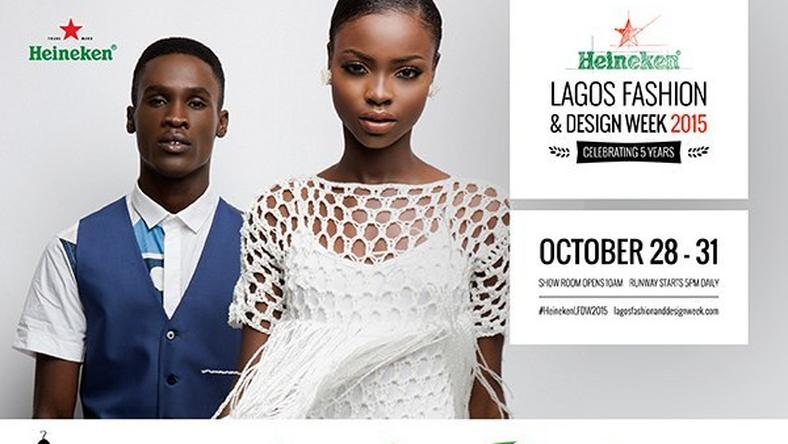 Heineken Lagos Fashion & Design Week 2015 will hold through 28th to 31st October this year