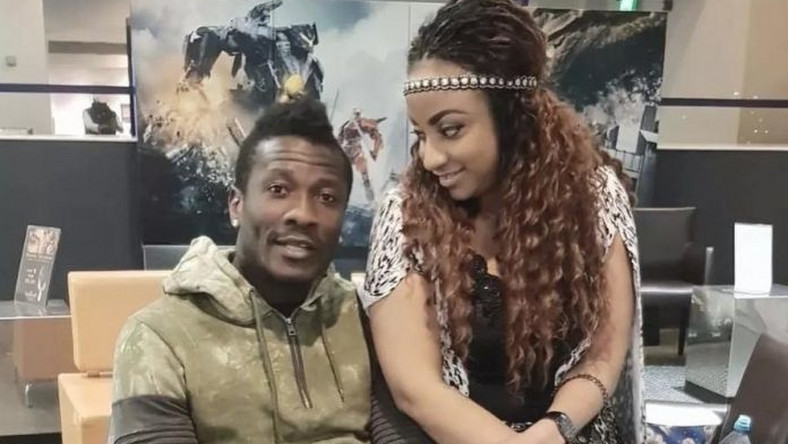 Asamaoh Gyan and Gifty Gyan