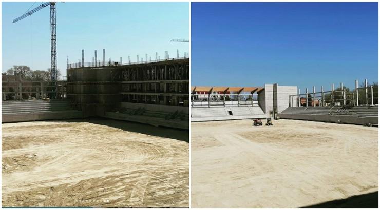 Izgradnja novog stadiona TSC Bačka Topola