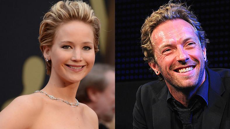 Jennifer Lawrence i Chris Martin wywołali medianąsensację