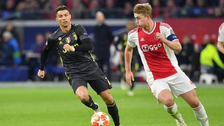 Matthijs de Ligt played against Juventus and Cristiano Ronaldo in the Champions League last season