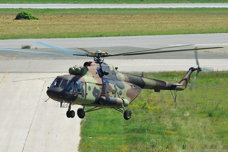 Batajnica01 helikopter foto Ministarstvo odbrane