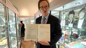 Pierwszy kontrakt Beatlesów sprzedany za pół mln euro