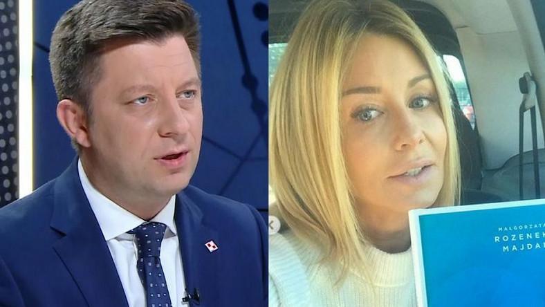Michał Dworczyk, Małgorzata Rozenek-Majdan