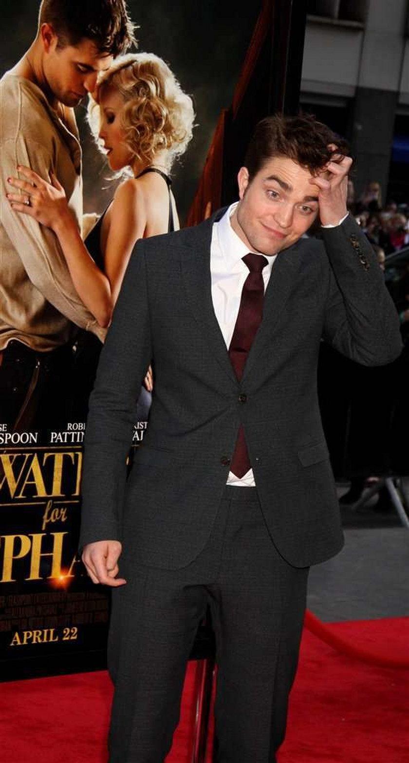 Pattinson przyznał się do oszustwa!