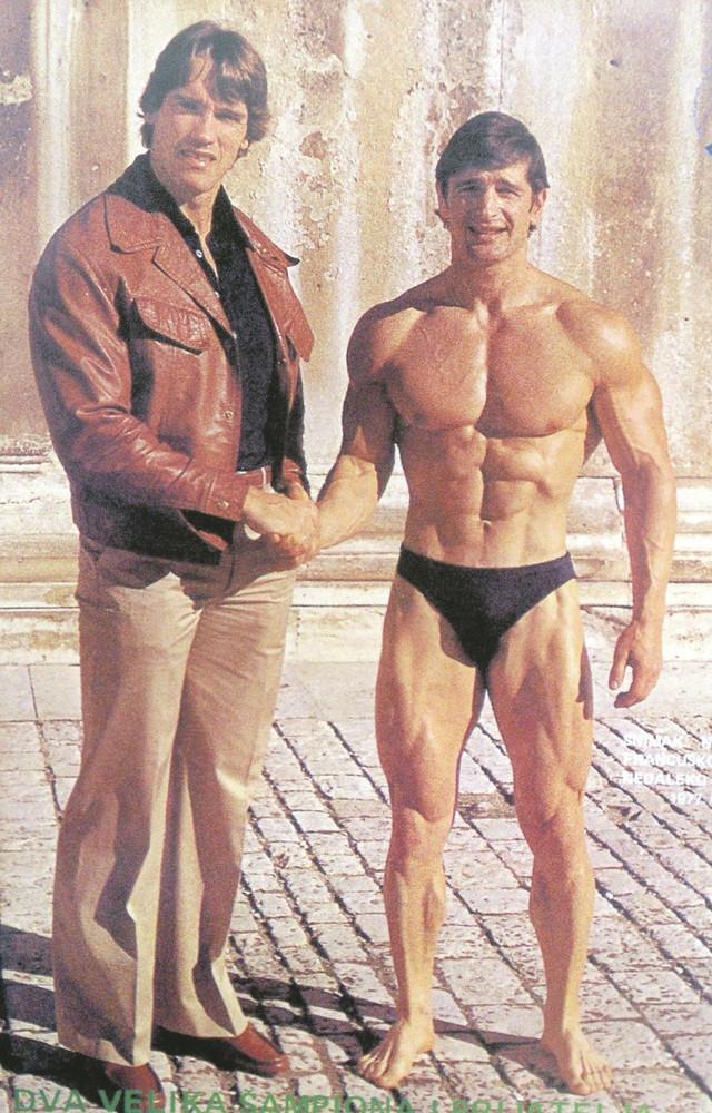 Trenirali nekada zajedno:Arnold Švarceneger i Petar Čelik