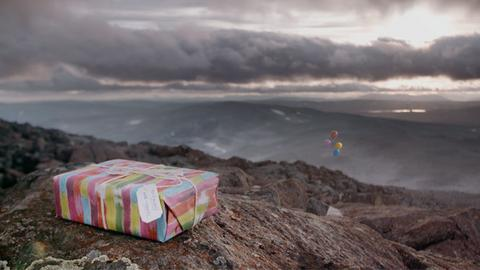 "Kadr z filmu ""Battle for Birthday Mountain"""