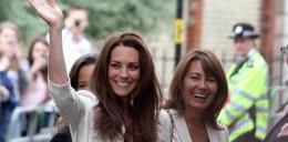 Skandal przed porodem! Przez matkę księżnej Kate