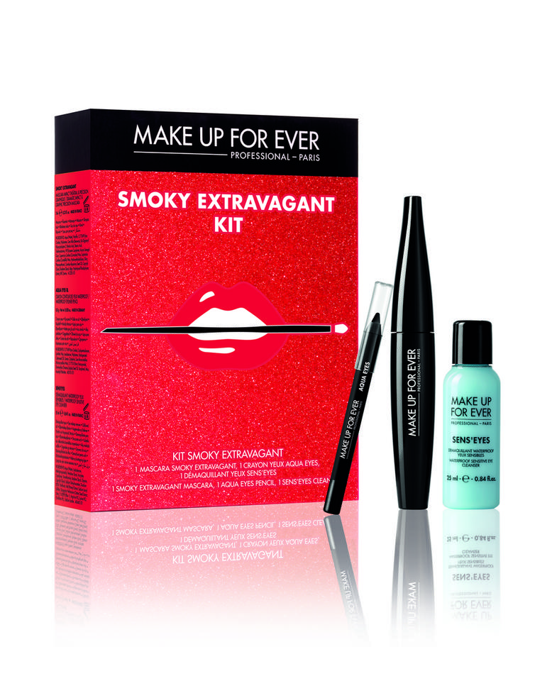 Zestaw Smoky Extravagant Make Up For Ever