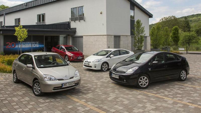 Toyota Prius - wszystkie generacje