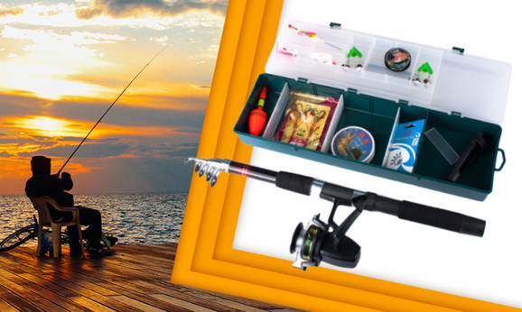 Kompletan pribor za pecanje