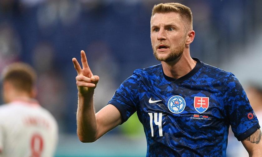 Milan Skriniar ustalił wynik spotkania Polski ze Słowacją.