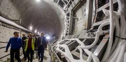 Tłumy na budowie tunelu pod Martwą Wisłą