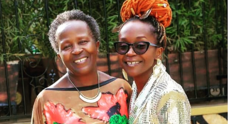 Anne Kansiime in mourning