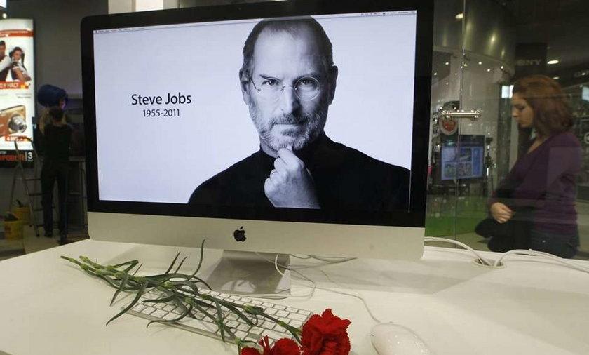 Złóż kondolencje po śmierci Jobsa