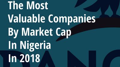 The most valuable companies by market cap in Nigeria in 2018