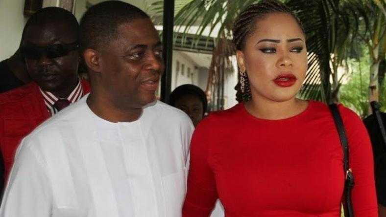 Femi Fani-Kayode and Precious