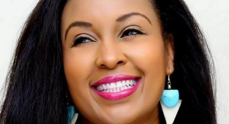 Sheila Mwanyigha flashes her perfect set of pearly whites