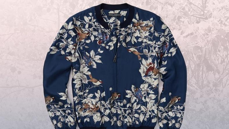 Dolce and Gabbana bomber jacket